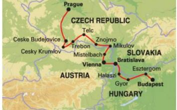May/June Cycling Trip from Prague to Budapest
