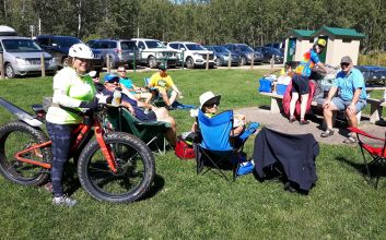 Report on the Elk Island Trail/Road Bike Rides and Picnic Saturday August 26, 2017
